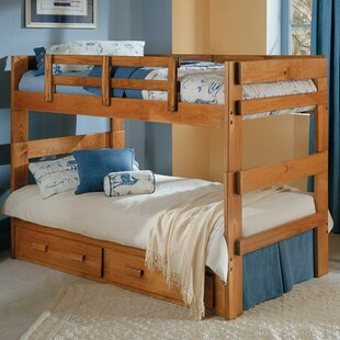 Twin Bunk Bed with Storage