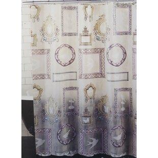 Becontree Glamour Girl Vanity Vinyl Single Shower Curtain