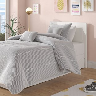 Aisling Cotton Gingham Comforter Set