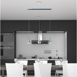 Brayden Studio Thibodeaux 3-Light Kitchen Island Pendant