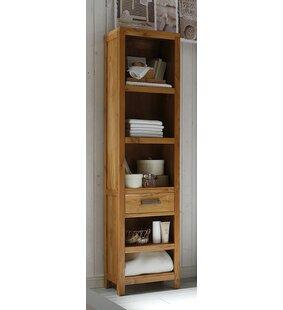 Masja 45 x 185cm Freestanding Bathroom Shelf by Massivum