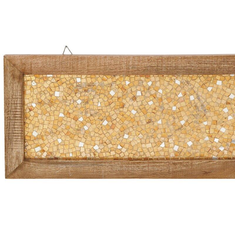 Urban Designs 2 Piece Cracked Mosaic Wooden Frame Wall Décor Set ...