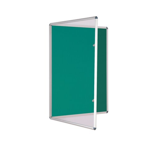 Wandmontierte Pinnwand ClearAmbient Größe: 60 cm H x 45 cm B| Farbe: Grün | Büro > Tafeln und Boards > Hängetafeln | ClearAmbient