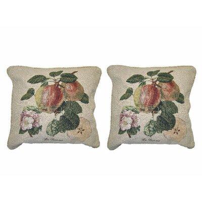 Strawberry Frame Decor Throw Pillow