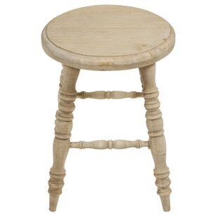 Mirelle Wooden Decorative Stool By Union Rustic
