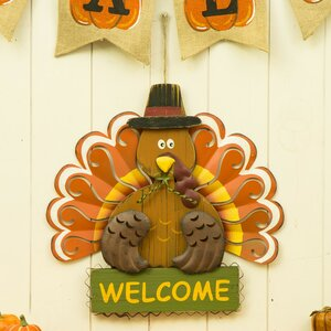 Turkey Welcome Yard Sign