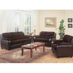 Jeanett 3 Piece Living Room Set by Red Barrel Studio