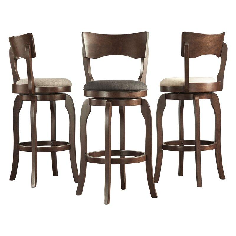 Swivel Bar Chair three posts wescott swivel bar stool & reviews | wayfair