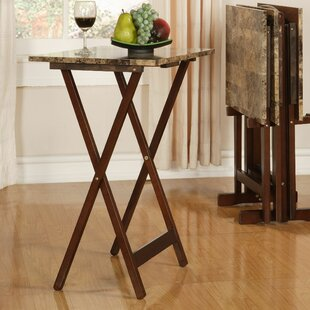 Reviews Catherine Tray Table Set By Andover Mills