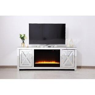 Compare & Buy Abeer TV Stand for TV up to 50 with Fireplace by Rosdorf Park Reviews (2019) & Buyer's Guide