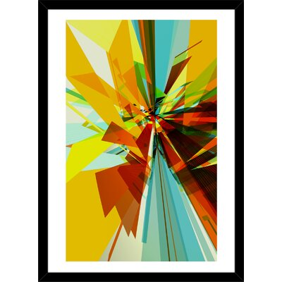 01 by Defetto Framed Graphic Art Curioos