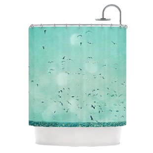 Down by The Sea Single Shower Curtain