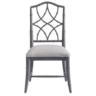 Viet Upholstered Dining Chair (Set of 2) byBayou Breeze