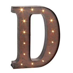 Letter LED Marquee Sign By Trent Austin Design