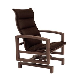 Lakeside Padded Sling Action Patio Chair