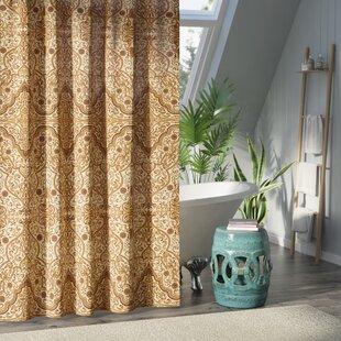 Puttney Middle Eastern Arabic Single Shower Curtain
