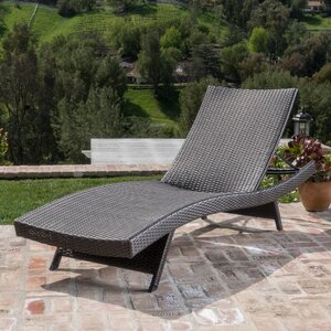 Athanasius Reclining Adjustable Chaise Lounge