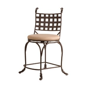 Vine Bar Stool Swivel by Kalco