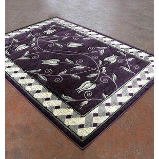 Order Purple/Black Area Rug ByRug Tycoon
