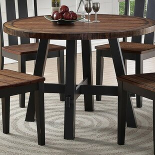 Whyte Cottage Solid Wood Dining Table Millwood Pines