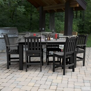 Three Posts Amelia 7 Piece Dining Set