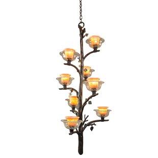 Kalco Cottonwood 8-Light Shaded Chandelier