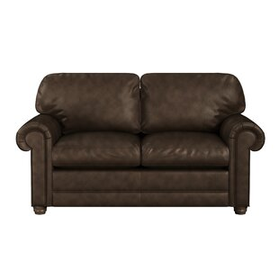 Oslo Leather Loveseat by Westland and Birch Best