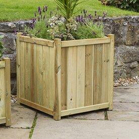 Randy Wooden Planter Box By Freeport Park