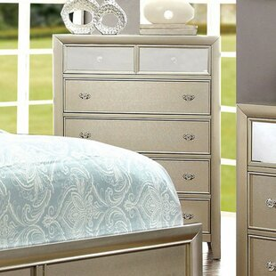 Compare Lopiccolo Wooden 6 Drawer Chest by Rosdorf Park