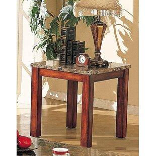 Claravale End Table by Fleur De Lis Living