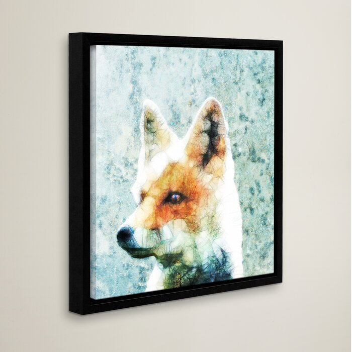 Abstract Fox Art
