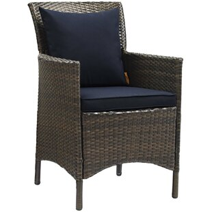 Rosenberry Patio Dining Chair With Cushion by Breakwater Bay Looking for