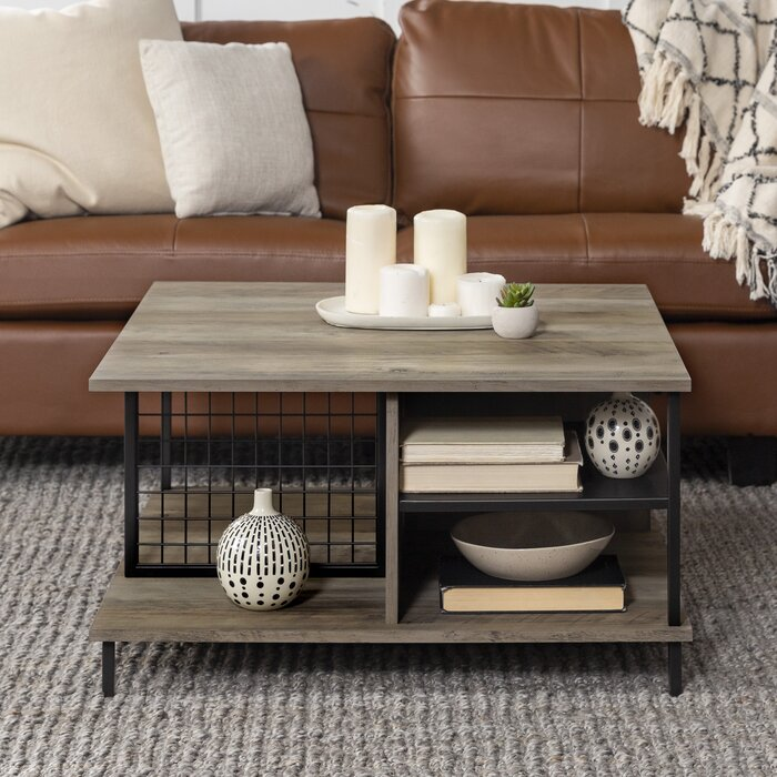 Wrought Studio Karah Coffee Table with Storage