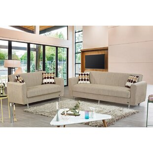 Meaux Sleeper Living Room Set by Latitude Run