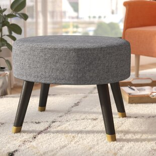 Ralph Mid-Century Cocktail Ottoman By Langley Street