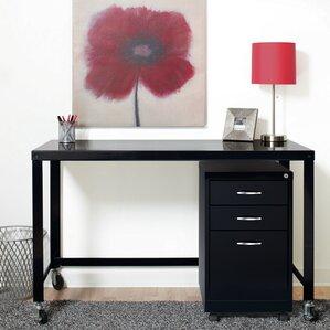 industrial modern writing desk