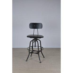 Toledo Adjustable Height Swivel Bar Stool