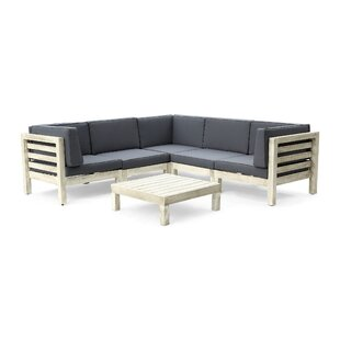 Kronqui 6 Piece Sectional Seating Group with Cushions