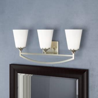 Latitude Run Burchell 3 Light Vanity Light Reviews Wayfair