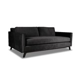 Marceau Velvet 84 Square Arm Sofa by Orren Ellis