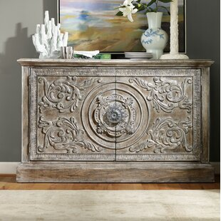 True Vintage Two-Door Accent Console