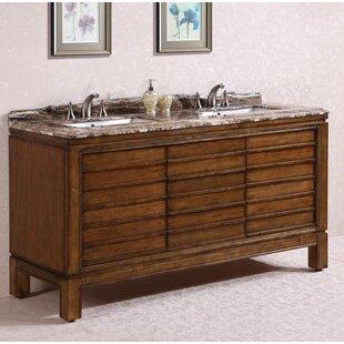 Buying 66 Double Bathroom Vanity Set ByLegion Furniture