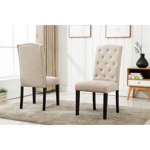 Cendrillon Upholstered Dining Chair (Set of 2) by Darby Home Co