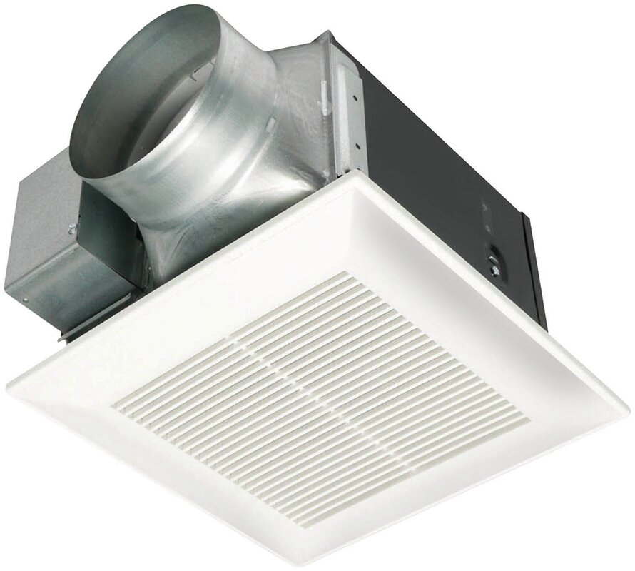 Panasonic WhisperCeiling CFM Energy Star Bathroom Fan - Bathroom exhaust fan 150 cfm for bathroom decor ideas