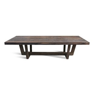Zoey Solid Wood Dining Table by Loon Peak Herry Up
