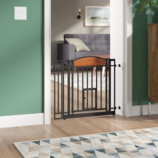 Gayle Design Wall Mounted Pet Gate by Tucker Murphy Pet
