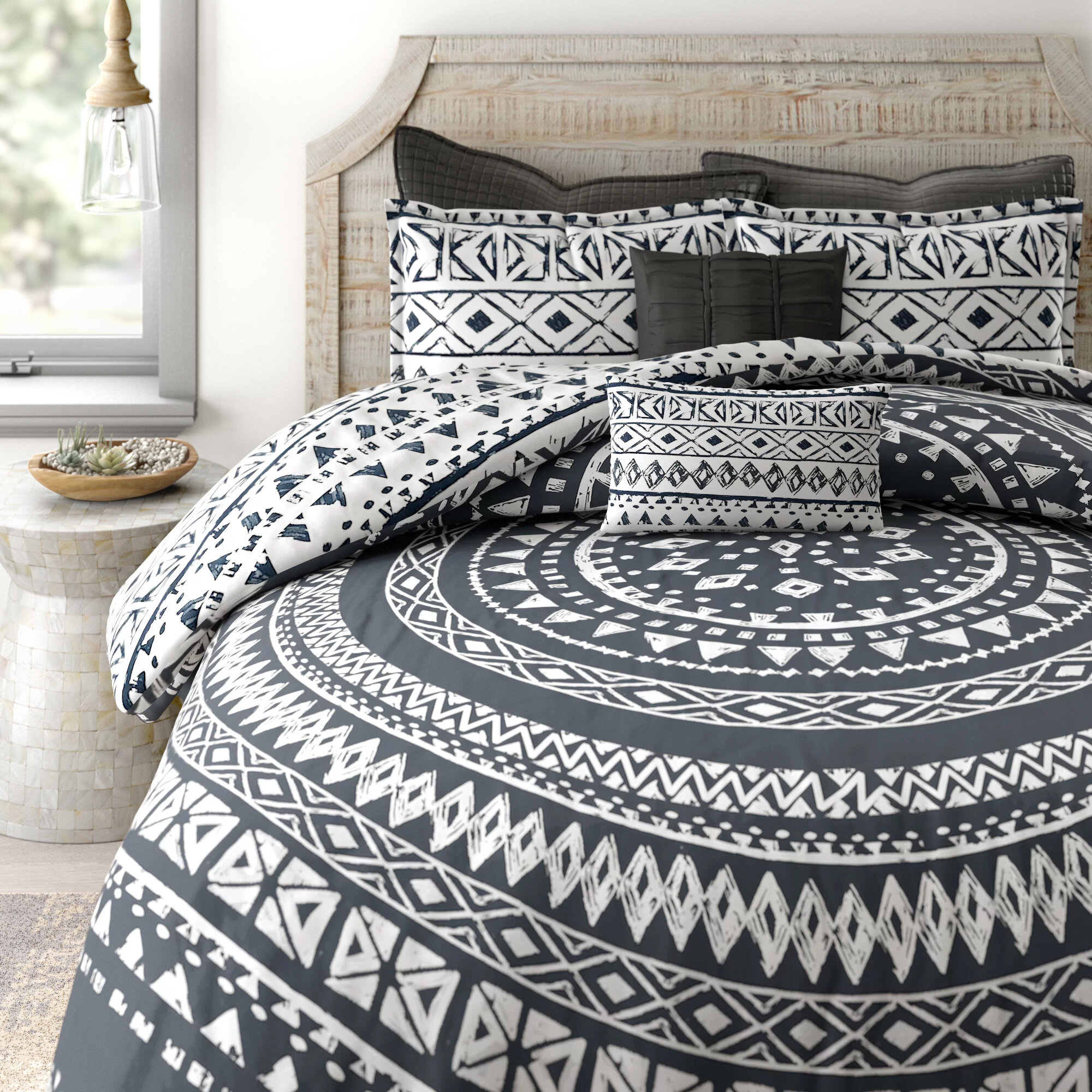 Mistana Teen Azemmour7 Piece Reversible Comforter Set Reviews Wayfair