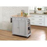 Farrar Kitchen Cart by Charlton Home®
