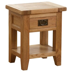 Ackley 1 Drawer Bedside Table By Union Rustic