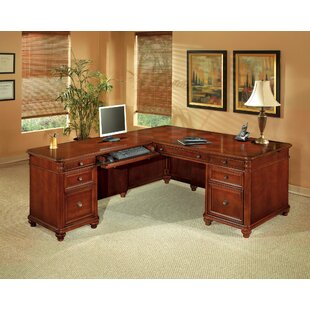 Flexsteel Contract Antigua L-Shape Executive Desk